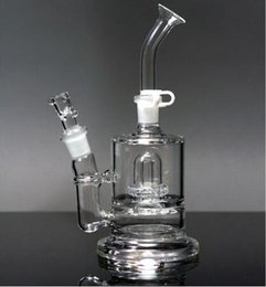 Wholesale Best price two function quot ATOMIC PREC glass bong glass water pipe bubbler with mm bowl and oil rig
