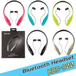 hbs900 bluetooth headphones wireless HBS 900 Earphone Headsets Tone+ Infinim Neckbands Wireless Stereo Earphones for samsung Andriod