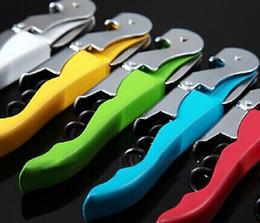 hippocampus red wine bottle opener Stainless steel multi-function bottle opener Creative wine opener Corkscrew