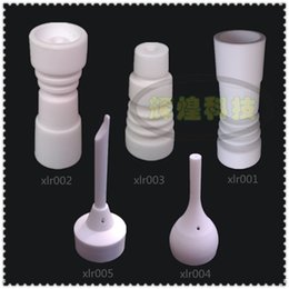 Wholesale Ceramic nail domeless Direct inject design fits both mm male glass joints and mm male glass joint Cheaper than the price of