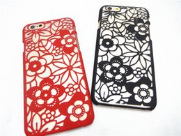 Fashion Classic beauty Vitoria flower pattern Hard Plastic PC Cellphone Case Cover For iPhone 6 6S plus