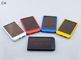 Панель зарядное устройство SH-2600MAH Солнечное зарядное портативный банк силы мощность для сотового мобильного телефона 5-TY от Производители клетки солнечной панели
