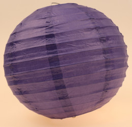 Wholesale MIC Purple Chinese Paper Lantern Wedding Party Home Decorations cm Hot sell mic Wedding Supplies