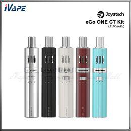 100% Original Joyetech Ego One CT Kit Original Joyetech Ego One CT 1100mAh E cigarette Joye Ego One Pen Kits