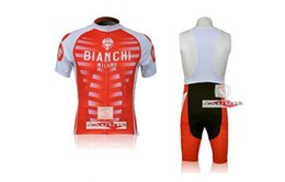 Wholesale 2015 bianchi Pro Quick Dry Cycling Clothing Cycling Jerseys Breathable MTB Bicycle Roupa Ciclismo GEL Pad Racing Bike Bib Shorts hot sale