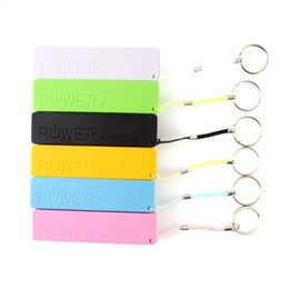 2600mAh Power Bank Emergency USB Portable External Battery Charger Universal for iPhone 6 5 4S 4 Samsung Galaxy Cell Phones 20pcs