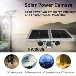 Wholesale Solar Powered Ip Camera Wireless - Wanscam new product HW0029 Built-in Battery P2P Ap Function Wireless Outdoor HD Solar Power IP Camera