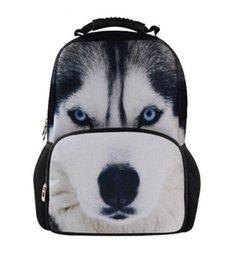 Wholesale 2015 Big Sale high quality art men s backpacks for student Unique Dog Backpack D laptop backpacks stylish men travel bag BP60