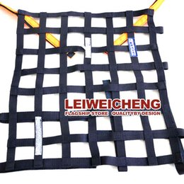 Wholesale General safety net car racing athletics window grille modify windows Fence common crash protection network Luggage rack grid