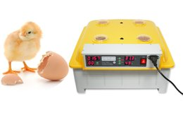 Wholesale 48 EGG INCUBATOR JANOEL DIGIITAL AUTOMATIC TURNER HATCHER Automatic Egg Incubator Digital Incubator Hatcher Turning Temperature Control CE
