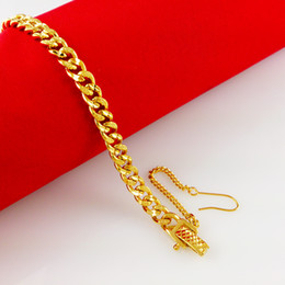 18K gold bracelet female , female models fine watch chain