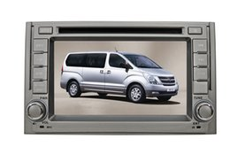 Wholesale 6 inch Special Car DVD Player For Hyundai H1 with GPS IPOD Bluetooth Steering Wheel control PIP dual zone tv can bus