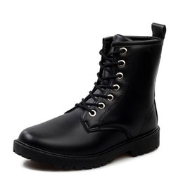 Martin winter boots boots male British high shoes boots men snow winter boots boots boots and cotton shoes men