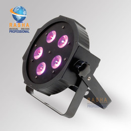 Wholesale New Arrival ADJ W in1 RGBAW UV Mega Quadpar Profile LED Par Light DMX Par Can American DJ Light For Event Party