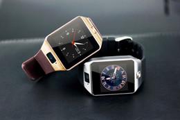 Wholesale 2015 Hot DZ09 bluetooth smart watch for Apple Ios Samsung android phone support SMI TF sport wristwatch smart watch dz09