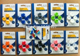 11 Colors Rubber Silicone PS4 Joystick Case Skin Cover For PlayStation Thumb Stick Grips Cover Wireless Controller