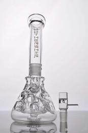 Mothership recycleur en Ligne-Mothership verre Bangs 2 Fonction verre tuyau d'eau Pipes Recycler plates-formes pétrolières disjoncteur Base de Bong Avec Herb Bowl 14 mm mixte délicat