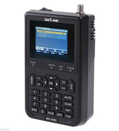 Wholesale satellite finder Satlink WS quot DVB S FTA digital satellite meters Finders ws satlink ws6906 post