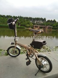Wholesale Can Foldable hot sell v AH Aluminum handlebar Gear integrated high speed brushless motors lithium battery electric bicycle