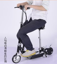 Wholesale 2015 New Style Small Transformers And Electric Scooter Electric V But Fold Portable Students Adult Car Instead Of Walking FREE DHL