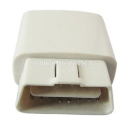 Wholesale 2014 New White mini elm wifi ON OFF Switch obd2 obdii elm327 V1 for Android IOS Auto Scanner M45818