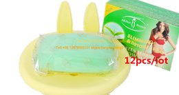 Wholesale Green Tea Weight loss Soap Slimming Soap g freeshipping