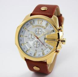 2015 Creative Design CURREN Brand Luxury fashion Leather Strap Watch For Men Quartz Waterproof Calendar Sports Wrist Watches