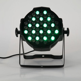 Free shipping Cast aluminium High power 54X3W LED PAR 64 RGB RGBW Indoor LED Par 64 Light