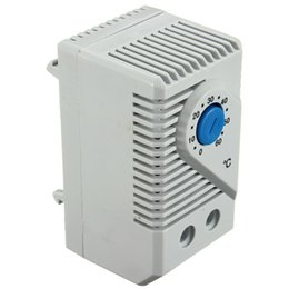 Wholesale KTS011 Room Exhaust Fan Thermostat Compact Mechanical Thermostat Temperature Controller Good quanlity