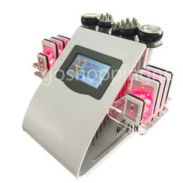 NEW ARRIVAL FREE SHIPPING Ultrasonic Cavitation Radio Frequency Vacuum RF Lipo Laser Slimming Machine Weight Loss
