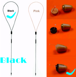 Wholesale Black Invisible hidden earphone Micro Wireless spy earpiece with inductive Neckloop Necklace micro mini spy earpiece
