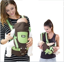 Wholesale 2016 New Baby Carrier Multifunction Breathable Backpacks Baby Boy Girl Cotton Sling Wrap Chicco Carriers Front Backpack M Kg