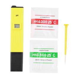 Wholesale Digital PH Meter Tester Pen Pocket Measure LCD Aquarium Water Advanced