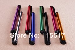 Wholesale DHL High Sensitive Stylus Capacity Screen touch pen Metal Material Best Quality AAAA
