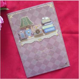 Tarjetas de navidad baratos en Línea-Las tarjetas de gama alta del festival para el hombre le agradecen las tarjetas Tarjetas de felicitación del cumpleaños Tarjetas de felicitación de la tarjeta de Navidad 5pcs / lot baratos