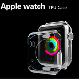 Apple Watch 3 Case Ultra Thin Slim Crystal Clear Transparent Soft TPU Cover Skin For Apple Watch 1 2 3 38mm 42mm iwatch