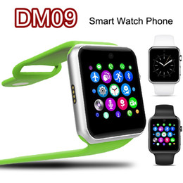 Wholesale 2015 DM09 LF07 Bluetooth Smart Watch D ARC HD Screen Support SIM Card SmartWatch Magic Knob For IOS Android