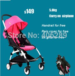 Wholesale Kiddopotamus baby car yuyu baby stroller umbrella car light ultra light yoya cart travel version stroller easy carry on airplane