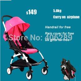 Wholesale Kiddopotamus baby car yuyu baby stroller umbrella car light ultra light yoya cart travel version stroller easy carry on airplane