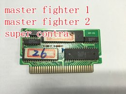 Wholesale-Very old 3 IN 1 PCB 8 BIT game cartridges, works well, made IN 1991,Valuable collections