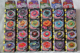 Wholesale 24 Rapidity Beyblade Battle Online Promote new Beyblade gyro Beyblade spin top toy beyblade metal fusion