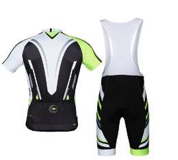 Wholesale-Santic Bike Cycling Bicycle Short Sleeves Jersey+4D Padded Bib Shorts Pants Set WMCT042