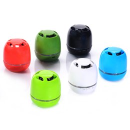Wholesale Creative Mini Bluetooth Speakers Best Universal Stereo Sound Speaker Ball Shape Wireless Bluetooth Home Speakers T6