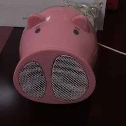 Wholesale Cartoon Electronic Pei Pei Pig Speaker