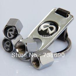 GPS 4 Pcs / Set Car Wheel Airtight Tyr Tire souches Air Valve Caps avec porte-clés Fit pour Infiniti à partir de infiniti porte-clés fabricateur