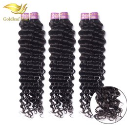 Malaysian Curly Hair 3pcs lot Deep Wave Malaysian Virgin Hair Bundles 8-28 inch Natural Black Malaysian Peruian Indian curly hair