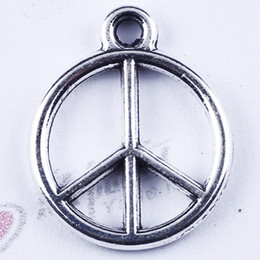 Classical Retro Arbore round Standard single hanging Peace charm silver copper DIY jewelry pendant fit Necklace or Bracelets1500 pcs lot 285
