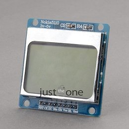 Wholesale New x48 Pixel Blue Backlight LCD Module Adapter PCB For Nokia For Arduino