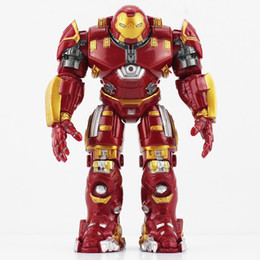 Wholesale NEW The Avengers Hulkbuster IronMan Hulkbuster PVC Action Figure Collectable Model Toy Brinquedos cm