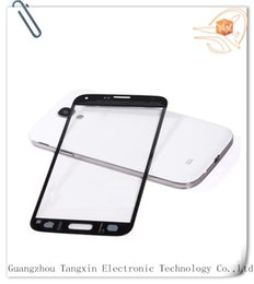 Mobile Phone Accessories Parts Mobile Phone Touch Panel Mobile phone s5 glass for Samsung s5 i9600 front glass with free shipping with logo